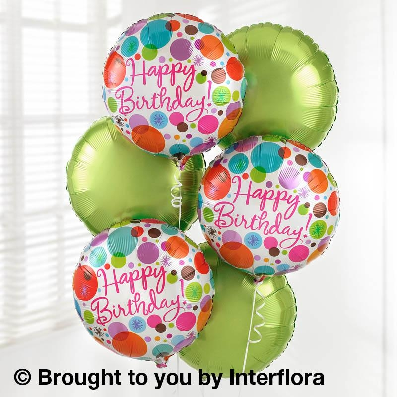 Happy Birthday Balloon Bouquet Pack Buy Online Or Call 01274 584373