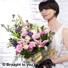 Pretty Pastels Presentation Bouquet