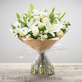 Wonderfully White Sympathy Hand tied