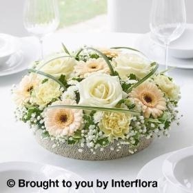 Floral Table Centrepieces