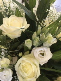 Florist Choice   White and Green